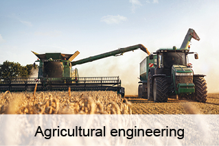 Agricultural engineering, agricultural technology, agriculture