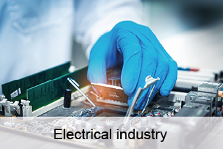 Electrical industry, electronics, electronics assembly