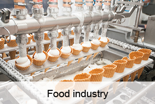 Food industry, food processing, food sector