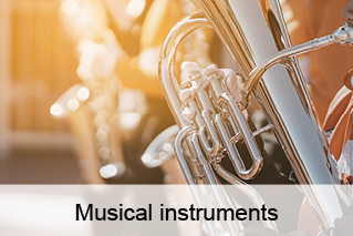 Musical instruments, wind instruments, tuba