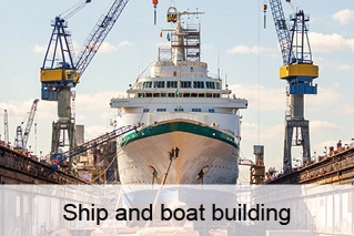 Shipbuilding, ship construction, boat building, boats, yachts