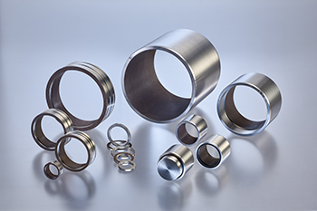Bushings, Cylindrical Slide Bushes, FLUROGLIDE