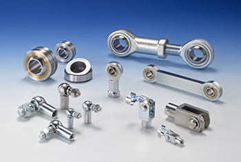 Fork heads, Angle Joints, Locking Nuts, seals